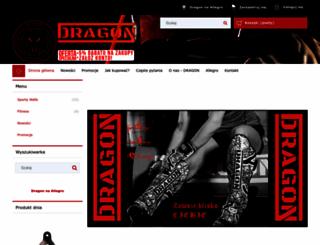 sklep.dragon-sports.pl screenshot