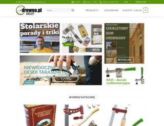sklep.drewno.pl screenshot