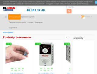 sklep.falowniki.com screenshot