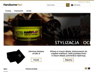 sklep.handsomemen.pl screenshot