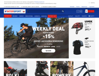 sklep.intersport.pl screenshot