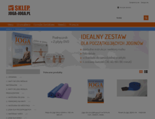 sklep.joga-joga.pl screenshot