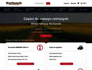 sklep.korbanek.pl screenshot