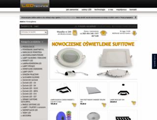 sklep.ledtechnics.pl screenshot