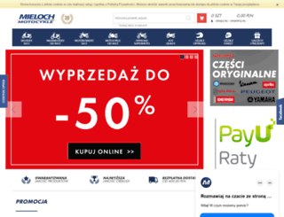 sklep.mieloch.pl screenshot