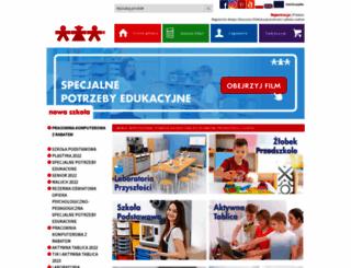 sklep.nowaszkola.com screenshot