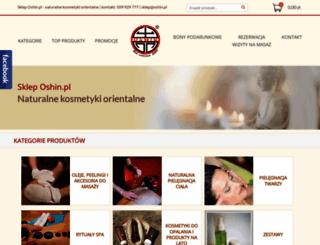 sklep.oshin.pl screenshot