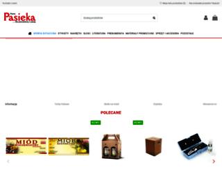 sklep.pasieka24.pl screenshot