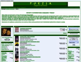 sklep.poezja-polska.pl screenshot
