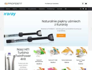 sklep.profident.pl screenshot