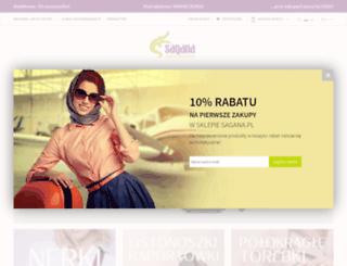 sklep.sagana.pl screenshot