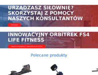 sklep.top-gym.pl screenshot