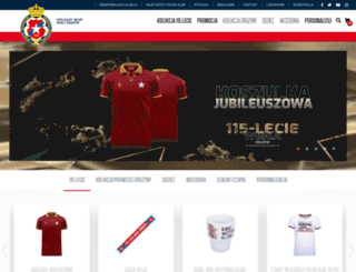 sklep.wisla.krakow.pl screenshot
