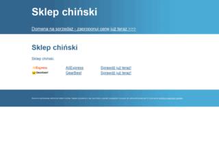 sklepchinski.pl screenshot