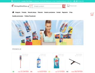 sklepdlawas.pl screenshot