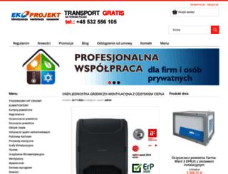 sklepekoprojekt.pl screenshot