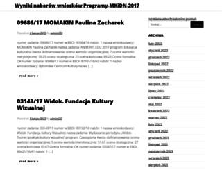 sklepkarm.pl screenshot
