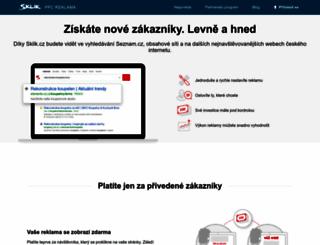 sklik.cz screenshot