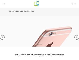 skmobilesandcomputers.com screenshot