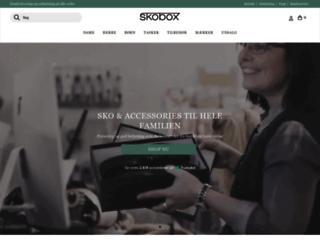skobox.dk screenshot