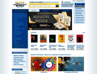 skocz.zlotemysli.pl screenshot