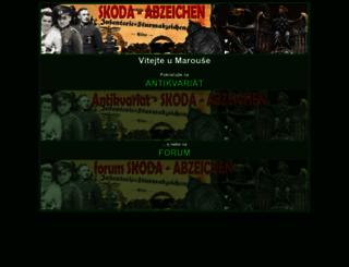 skoda-abzeichen.eu screenshot