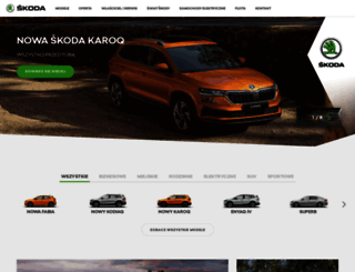 skoda-auto.pl screenshot