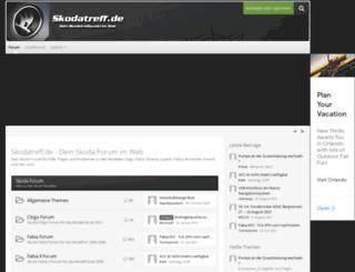 skodatreff.de screenshot