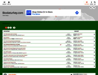 skodaturkey.com screenshot