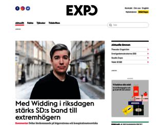 skola.expo.se screenshot