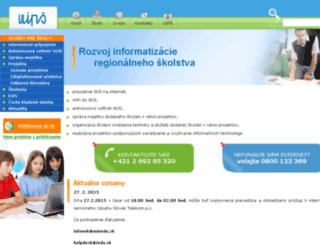 skoly.infovek.sk screenshot