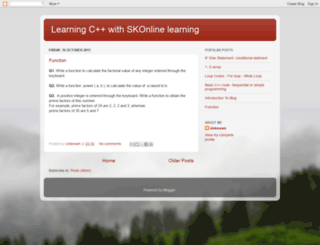 skonlinelearning2015.blogspot.com screenshot