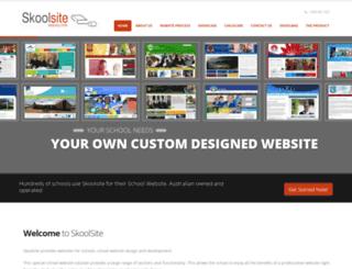 skoolsite.com.au screenshot