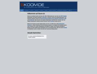 skoom.de screenshot