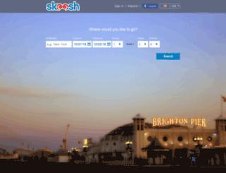 skoosh.com screenshot