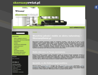 skorzanyswiat.pl screenshot