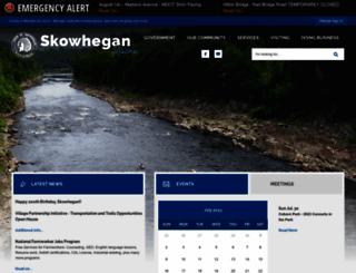 skowhegan.org screenshot
