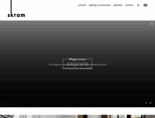 skramfurniture.com screenshot