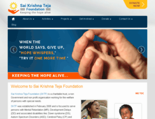 sktejafoundation.org screenshot