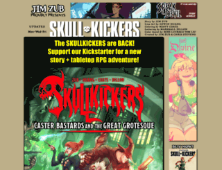 skullkickers.keenspot.com screenshot