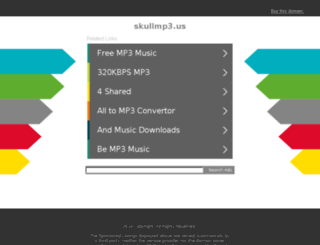 skullmp3.us screenshot