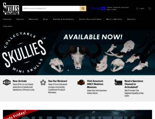 skullsunlimited.com screenshot