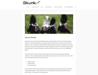 skunk.com screenshot
