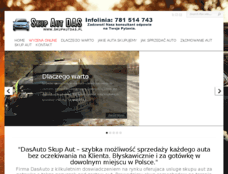 skupautdas.pl screenshot