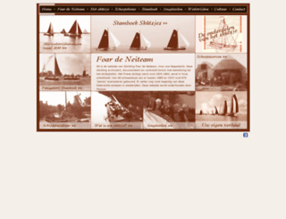 skutsjehistorie.nl screenshot