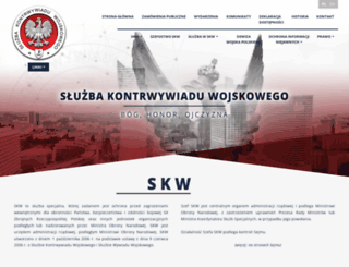 skw.gov.pl screenshot