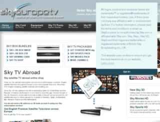 sky-europe.tv screenshot