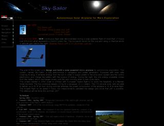 sky-sailor.ethz.ch screenshot