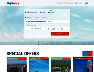 sky-tours.co screenshot