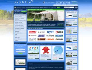 skyblueleisure.co.uk screenshot